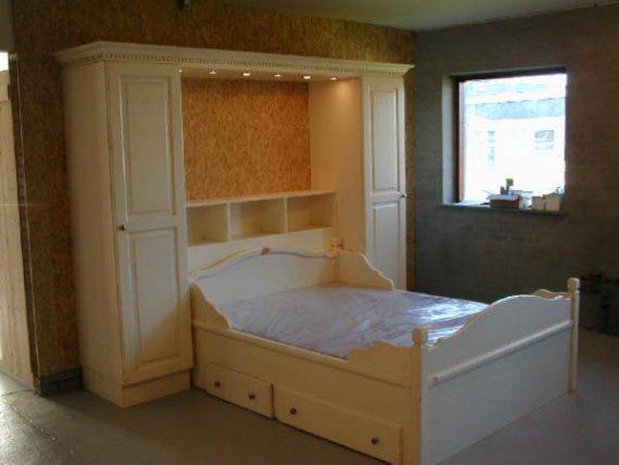 Hemsedal seng 150x200 Cm med skuffer-0